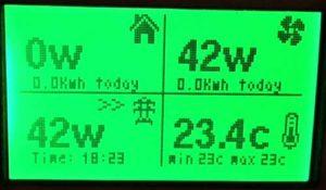 Solar Display Meter