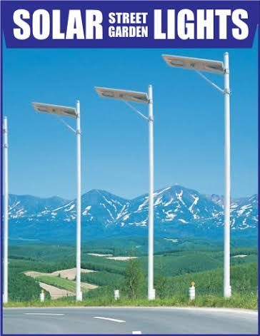 advantages integrated solar street light
