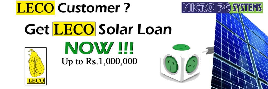 LECO Solar Loan